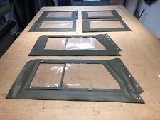Borgward B2000 Steckfenster Satz, Oliv RAL 6014