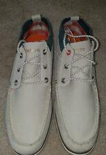 TRETORN 472438-04 Kasper Leather Sailing Shoes  Gray sz 11.5 mens