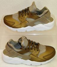 471519d2fa17 Nike Air Huarache Run Premium TXT Khaki Womens US Size 8.5 UK 6 EUR 40