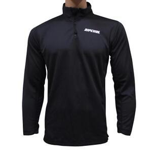 Rip Curl Baselayer Top Mens Size S Small Black T-Shirt Tee Snow Ski Mountain