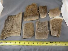 Coastal deer hair lot, dry streamer muddler fly tying materials