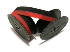 2 Pk For Less Vintage Portable Manual Royal Typewriter Spool Ribbon Black Red