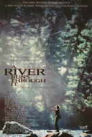 "A RIVER RUNS THROUGH IT Movie Poster [Licensed-New-USA] 27x40"" Theater Size Pitt"