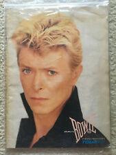 David Bowie 1983 Serious Moonlight Tour Booklet / Program / Brochure