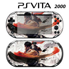 Vinyl Decal Skin Sticker for Sony PS Vita Slim 2000 Street Fighter X