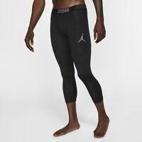 Air Jordan Alpha Dry 23 Nike Mens 3/4 Tights Running Workout Gym  2XL XXL NEW