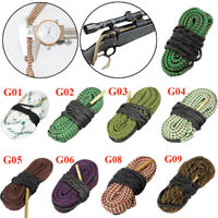 Calibre Bore Snake Gun rifle Cal Cleaning Boresnake Cleaner brush tool  Sports