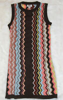 NWT! MISSONI for Target Womens Chevron Zig Zag Sweater Dress Small (S)