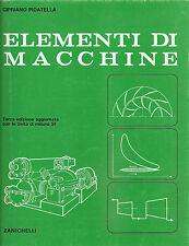 CIPRIANO PIDATELLA: ELEMENTI DI MACCHINE _ ZANICHELLI _ caldaie _ turbine _ ...