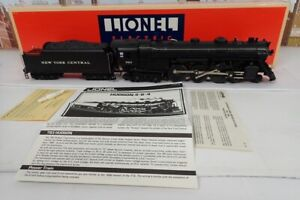 Lionel O Gauge 783 New York Central Hudson Steam Engine & Tender In Box #6-8406