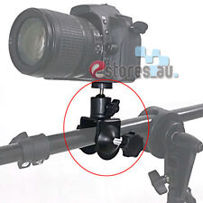 Photo Studio U Clip Clamp with Ball Head Bracket For Camera Flash Light stand