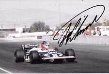 Derek Warwick SIGNED  Toleman-Hart TG181 , Caesars Palace GP Las Vegas 1981