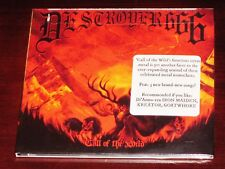 Destroyer 666 : Call of the wild EP CD 2018 SAISON DE BRUME Som 457d DIGIPAK