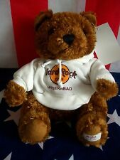HRC Hard Rock Cafe Hyderabad Sweater Hoodie Bear 2008 LE Made by Herrington