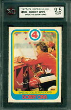 1978 79 OPC #300 BOBBY ORR SPECIAL COLLECTOR'S CARD KSA 9.5 NEAR GEM MINT