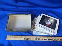 Huge LOT 1940s-50 MCM Xmas Greeting Cards Photo Art Norcross America Santa Vtg