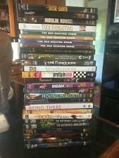 lot of used and new dvds