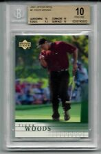 2001 Tiger Woods Upper Deck #1 RC Rookie BGS 10 Pristine RARE Graded PSA Golf !