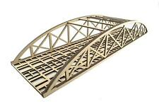 More details for wws double mdf low detail bowstring bridge choose length –oo/ho model railway