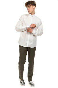 RRP €165 BURBERRY BRIT Shirt Size XL Embroidered Logo Round Hem Long Sleeve
