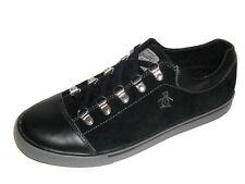 Original Penguin Men's Sky Suede Lace Up Fashion Shoes Sneakers Black Size 9 New