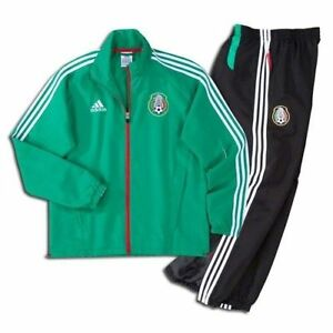 ADIDAS MEXICO PRESENTATION SUIT Green/Black.