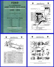 Ford Blitz (CMP) Truck Illustrated Parts Catalogue on DVD for F8 F15 F30 F60 etc