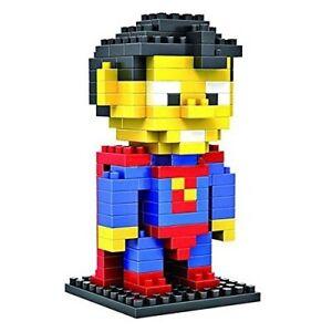 Superman Superhero LOZ style 150pc Nano Brick Mini Building Block Puzzle Toy UK