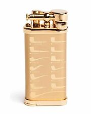 IM Corona Old Boy Pipe and Cigar Lighter Gold Plated Gift Box 27043