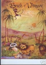 "Jo Sonja Jansen: ""A Brush Of Whimsey"" Paint Book -New!"