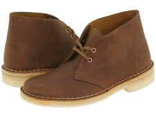 Womens Clarks Desert Boots Beeswax Leather 70294 ( 26111499 )