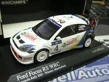 FORD Focus WRC Rallye Acropole Greeve 2003 Märtin Winner SP PMA Minichamps 1:43