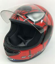HJC Marvel Spiderman Helmet Street Bike Size Large