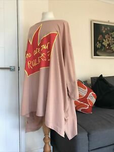 Vivienne Westwood Anglomania Hugley Oversized Tent Dress OS 12/14/16/18