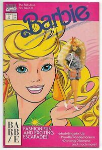 Barbie #1 (Marvel, 1991) – John Romita cover – Fabulous First Issue! – VF-