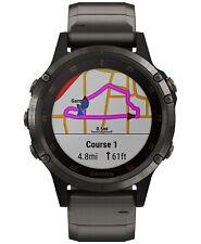 Brand NewGarmin Unisex fenix® 5 Plus Titanium Band Smart Watch 47mm 010-01988-02