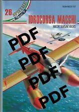 Ali d'Italia 26 Idrocorsa Macchi PDF Regia Aeronautica WW2 Alta Definizione