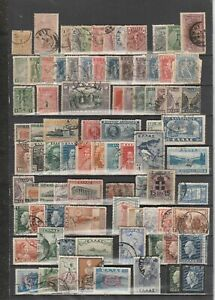 GREECE 1896-1996, 100 years collection, 700+ ALL different used, 8 pages.