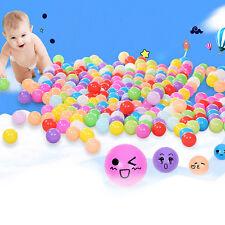 100 Stück Bunte Farben Kinderbälle Spielbälle Bällebad Kugelbad Bälle 55mm