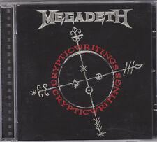 LIKE NEW CD MEGADETH-CRYPTIC WRITINGS
