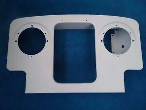 Land rover series 1 radiator panel
