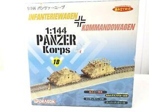 1:144 Panzer Korps Infateriewagen Kommandowagen Dragon Plastic Scale Model Kit