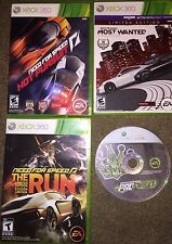 Xbox 360 Need For Speed - Hot Pursuit, Most Wanted, The Run, Pro Street