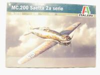 1/48 Italeri MC.200 Saetta 2a Serie Italian WW2 Plastic Scale Model Kit 2711 NEW