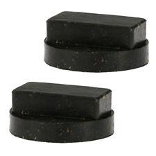2X Rubber Jacking Pad block Tool Jack Pad Adapter for BMW E90 E91 E81 E63 X1 X5