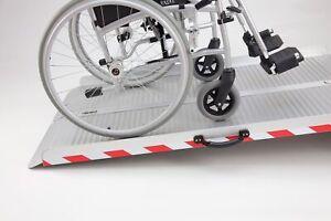 Extra Breite Faltbare Rollstuhlrampe mit / ohne Tragetasche