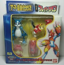 Rare Japanese Bandai Digimon Armor Digivolving Veemon Flamedramon Figure