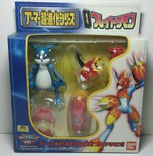 Rare Japanese Bandai Digimon Armor Digivolving Veemon Flamedramon Figure