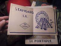 """Ancien Manuel de la Boite  """"O"""" des Jeux de Construction STANDARD L.R"""