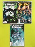 Blackest Night: Batman Mini Series #1 2 3  DC NM 9.4